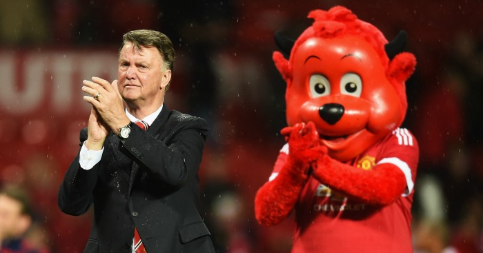 Louis van Gaal: Thanked the fans at full-time
