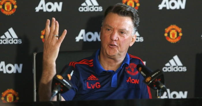 Louis van Gaal: Reiterated Man Utd need creative, fast attackers