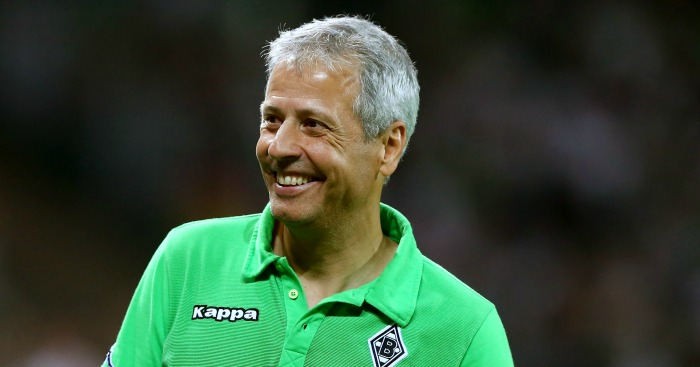 Lucien Favre: Could occupy Goodison dugout next season
