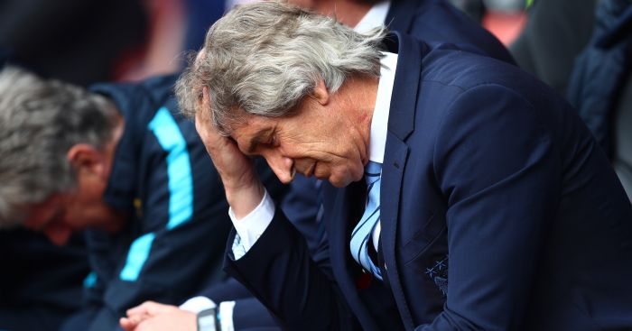 Manuel Pellegrini: Can barely look as Saints run riot