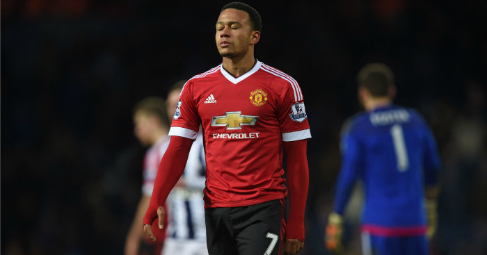 Memphis Depay: Winger has not traveled to Wembley