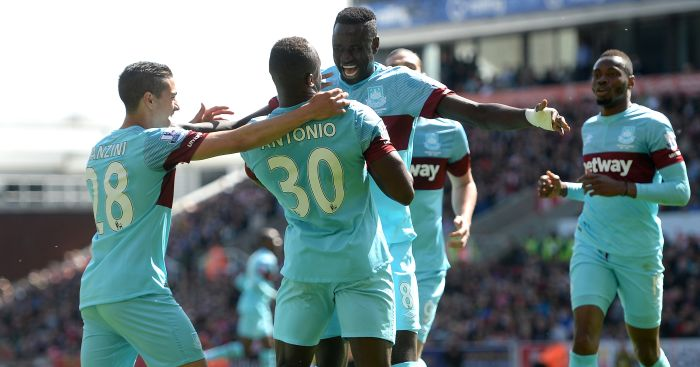 Michail Antonio: Grabbed the opening goal at the Britannia
