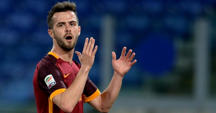 Miralem Pjanic: Roma midfielder linked with Manchester United