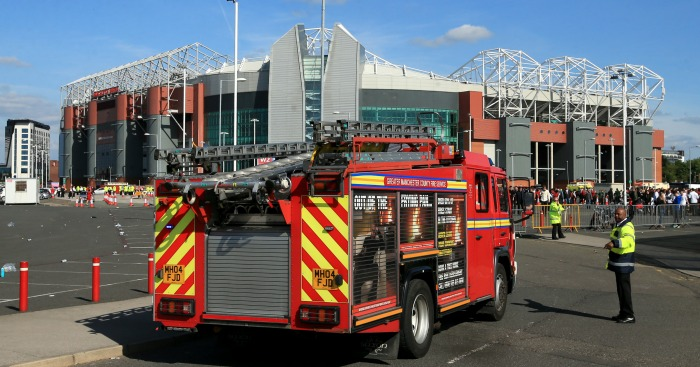 Old Trafford: Bomb scare forced abandonment