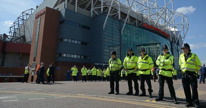 Old Trafford: Bomb scare