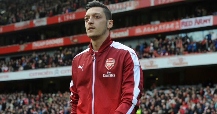 Mesut Ozil: In superb form for Arsenal