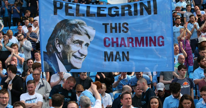 Manuel Pellegrini: Fans pay tribute to Chilean