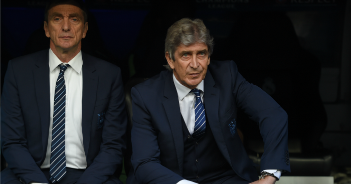 Manuel Pellegrini: Thought City were unlucky