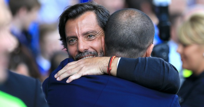 Quique Sanchez Flores: Tipped to replace Roberto Martinez