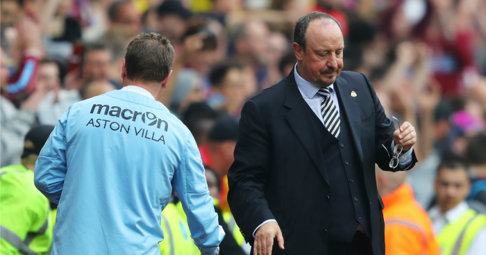 Rafa Benitez: His men missed chances