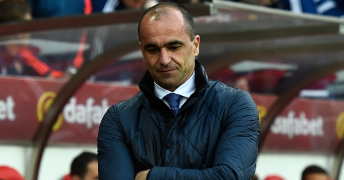Roberto Martinez: Felt his side deserved more