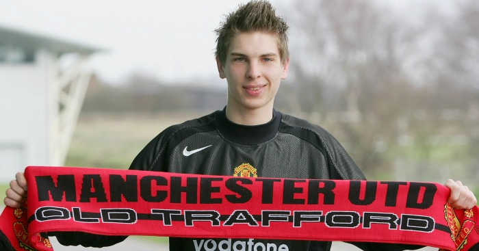 Ron Robert Zieler Manchester United 2005