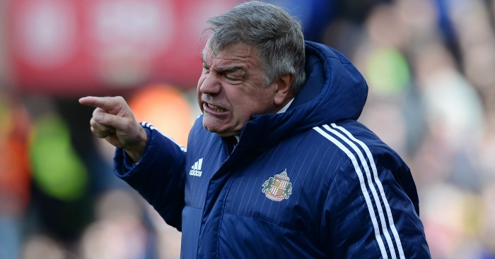 Sam Allardyce: Trying to keep his cool