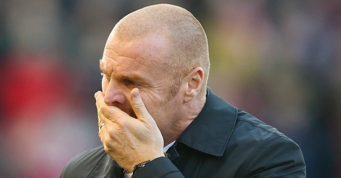 Sean Dyche: Knows he needs to splash some cash