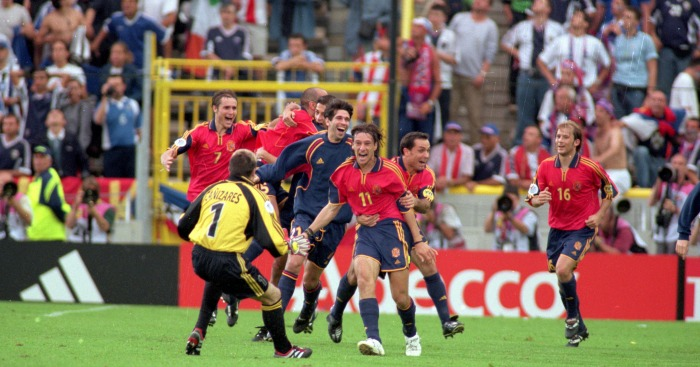 Alfonso Perez: Hero for Spain back in 2000