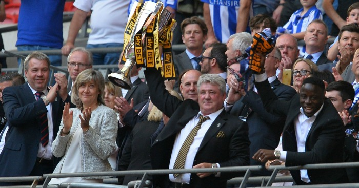 Steve Bruce: Manager guided Hull to promotion