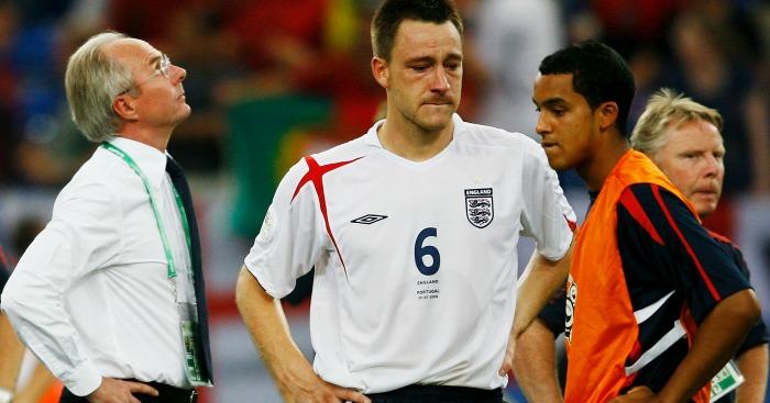 Sven Goran Ericsson Theo Walcott England 2006