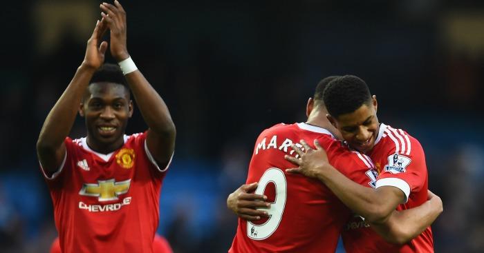 Timothy Fosu Mensah Marcus Rashford Manchester United