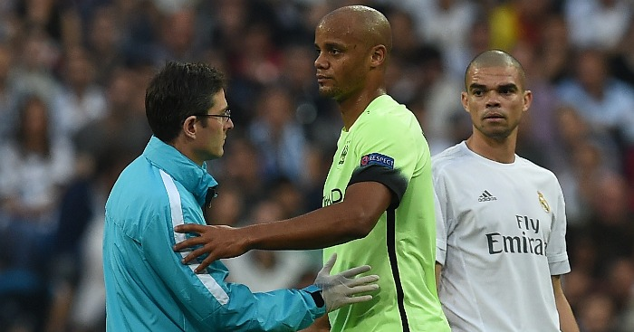 Vincent Kompany: Could miss up to four months
