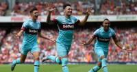 West Ham: Won 2-0 at Arsenal in August