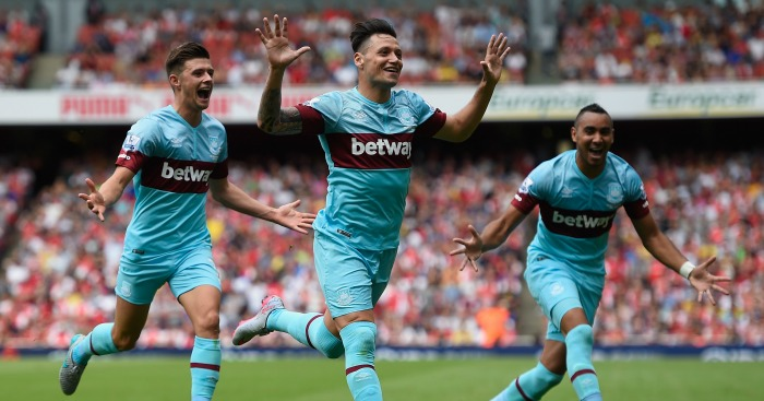 West Ham: Won 2-0 at Arsenal in August