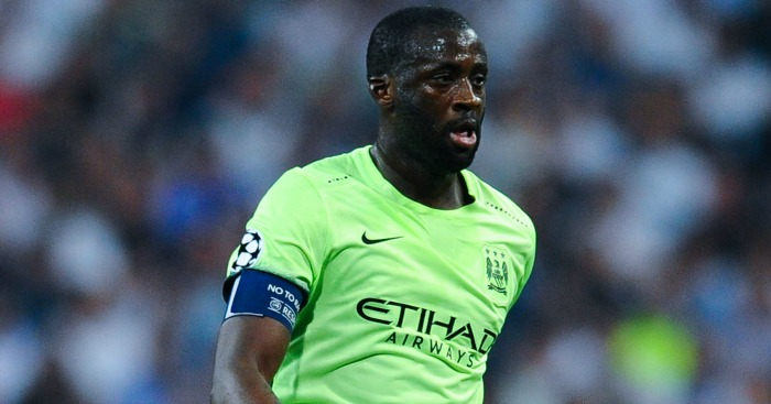 Yaya Toure: Set to discuss transfer in January