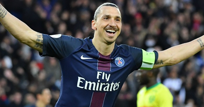 Zlatan Ibrahimovic: Striker has joined Man Utd