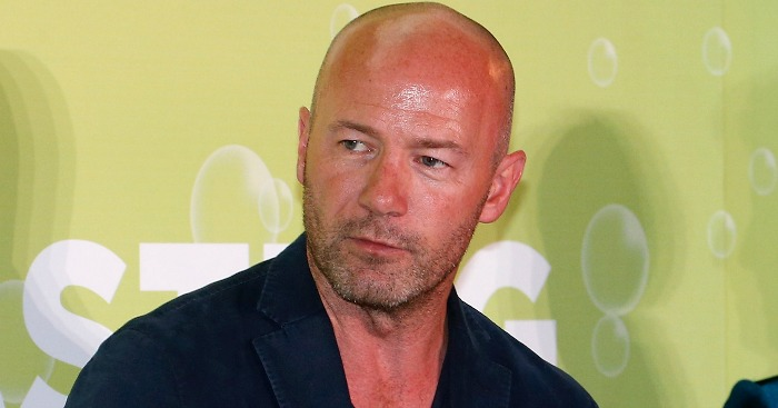 Alan Shearer: Named his man for England