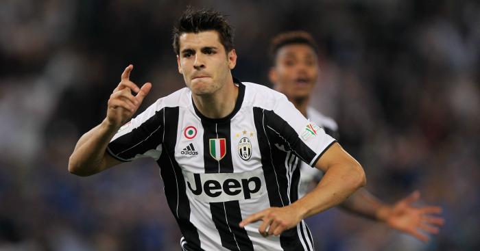 Alvaro Morata: Striker emerged as a target for Man Utd