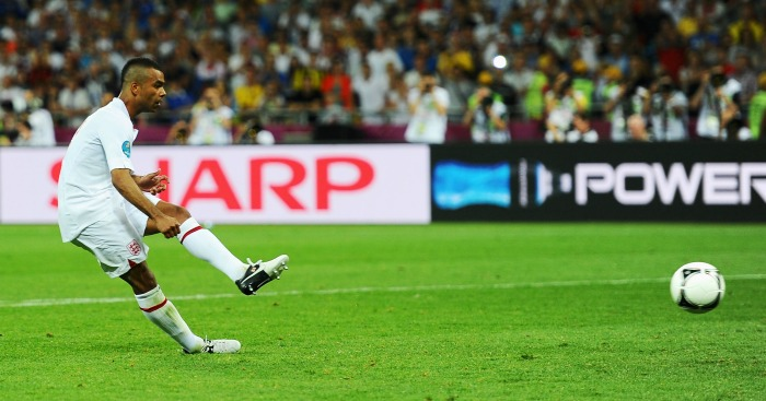 Ashley Cole: Missed penalty in shootout at Euro 2012