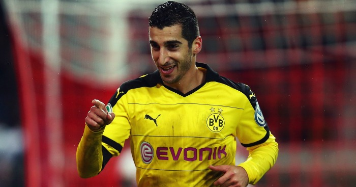 Henrikh Mkhitaryan: Closing in on Man Utd transfer