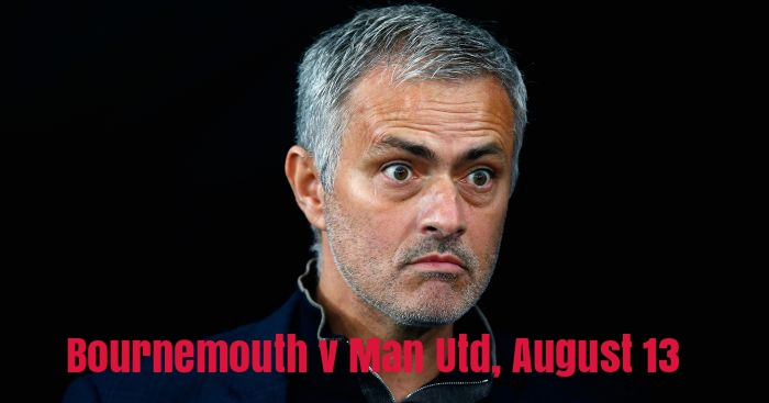Jose Mourinho: Tricky trip to Bournemouth on opening day