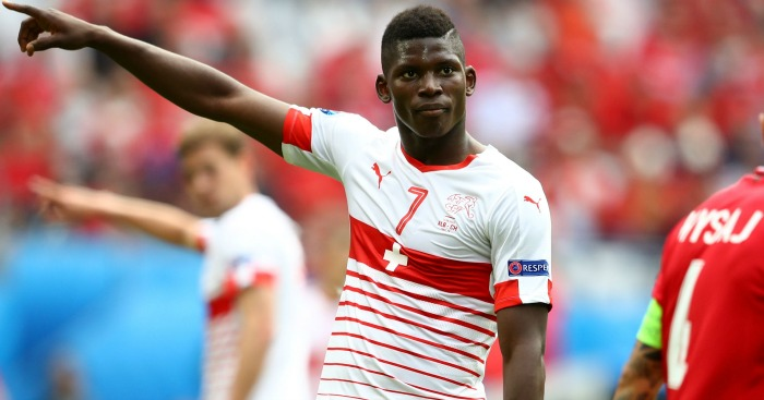 Breel Embolo Switzerland