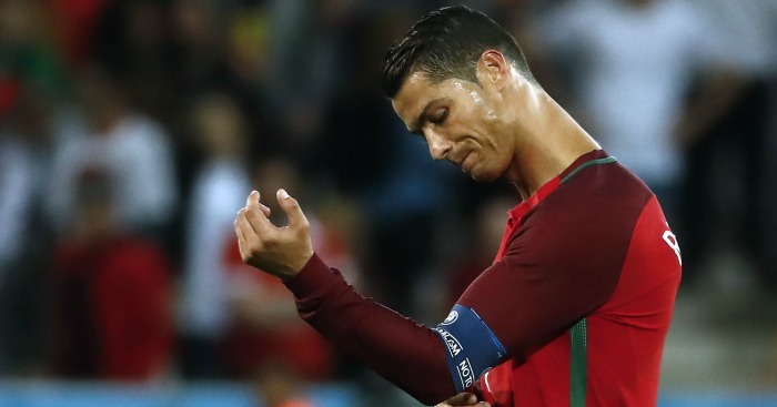 Cristiano Ronaldo: Claimed Iceland have a 'small mentality'.