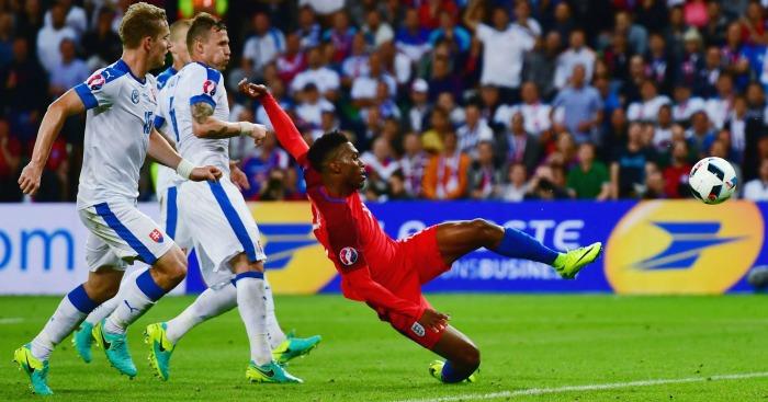 Daniel Sturridge England v Slovakia