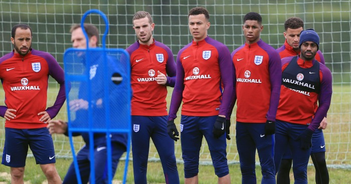 England squad: Youngest average age of any at Euro 2016