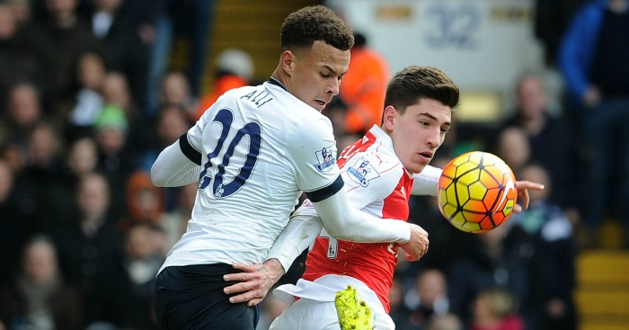 Dele Alli & Hector Bellerin: Both make our top five Young Players