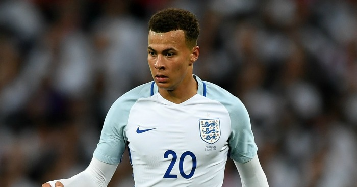 Dele Alli: Warned