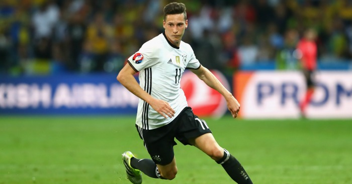 Julian Draxler: Linked with Arsenal move