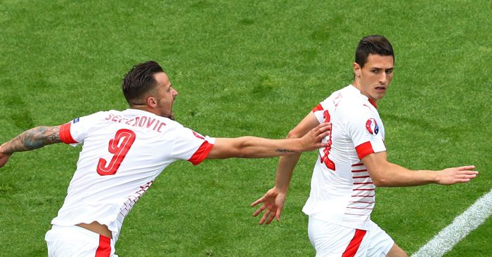 Fabian Schar: Opened the scoring for Switzerland