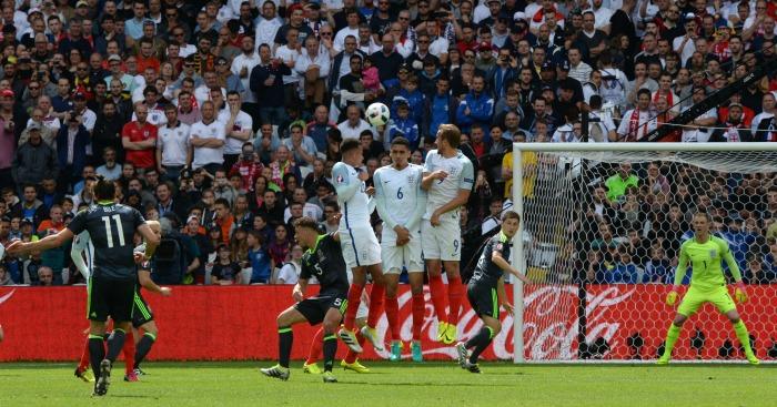 Gareth Bale scores England v Wales
