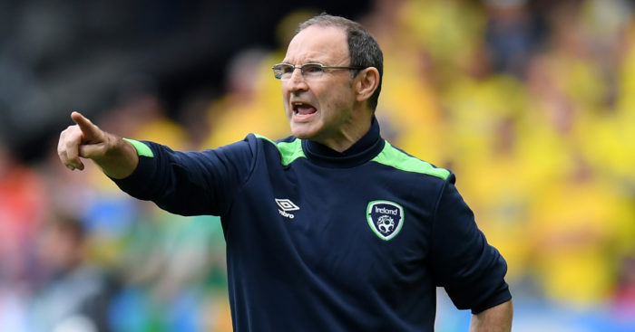 "Martin O'Neill: ""Delighted"" with Ireland performance"