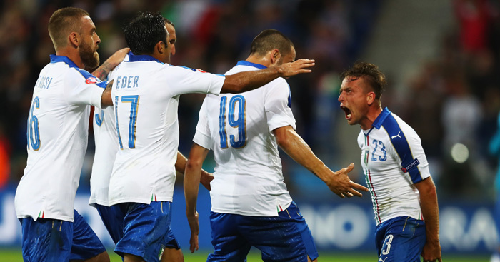 Emanuele Giaccherini: On target for Italians