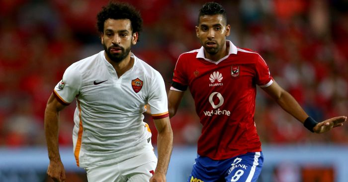 Mohamed Salah: Spent last season on loan at Roma