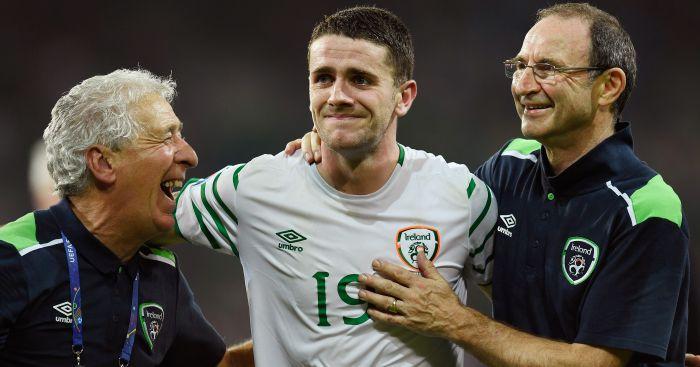 Robbie Brady Martin O'Neill