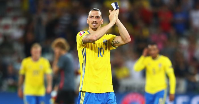 Zlatan Ibrahimovic: Confirmed his move to United on social media.