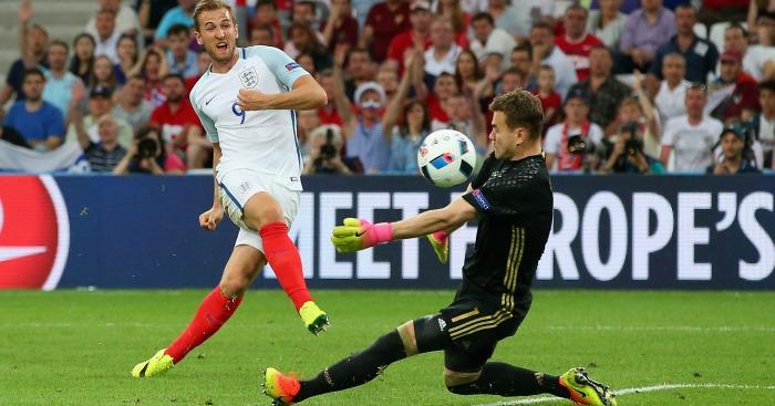 Harry Kane disallowed goal England v Russia