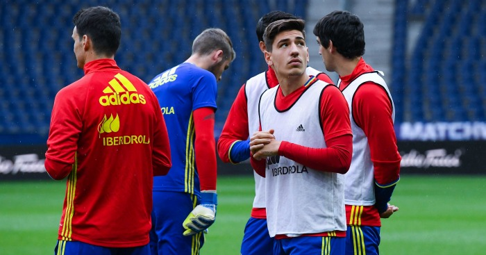 Hector Bellerin: Late addition to Spain squad for Euro 2016