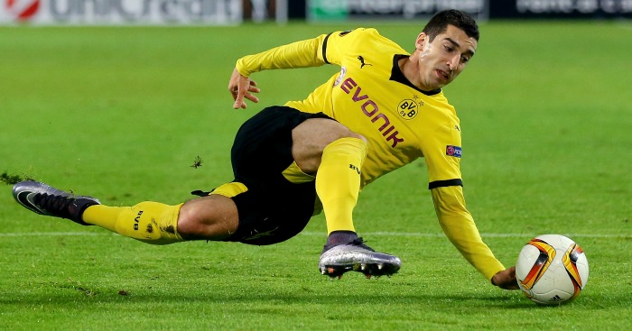 Henrikh Mkhitaryan: Closing on Man Utd swoop