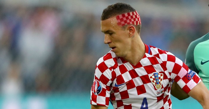 Ivan Perisic: Shows off his haircut